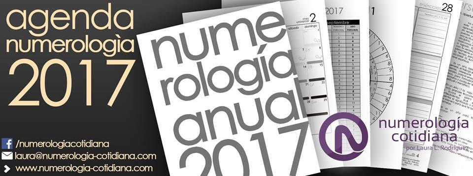Agenda 2017 - Numerología Cotidiana de Laura Rodriguez