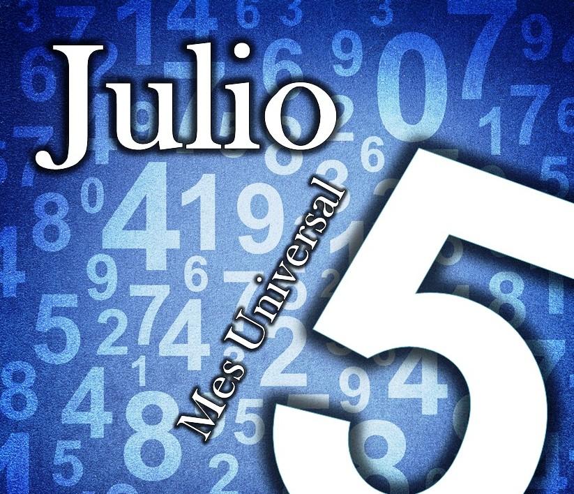 Mes Universal 5 tránsitos numerologicos