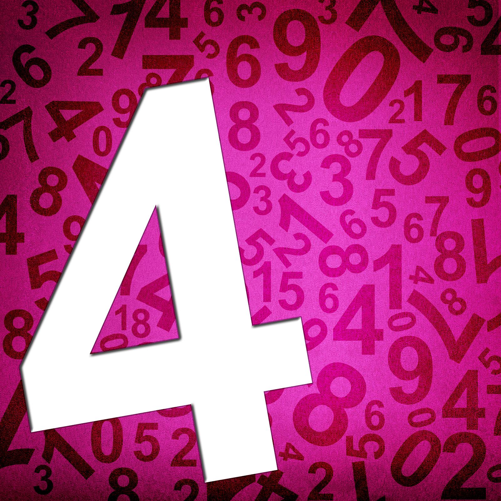 numerologia de la semana 4
