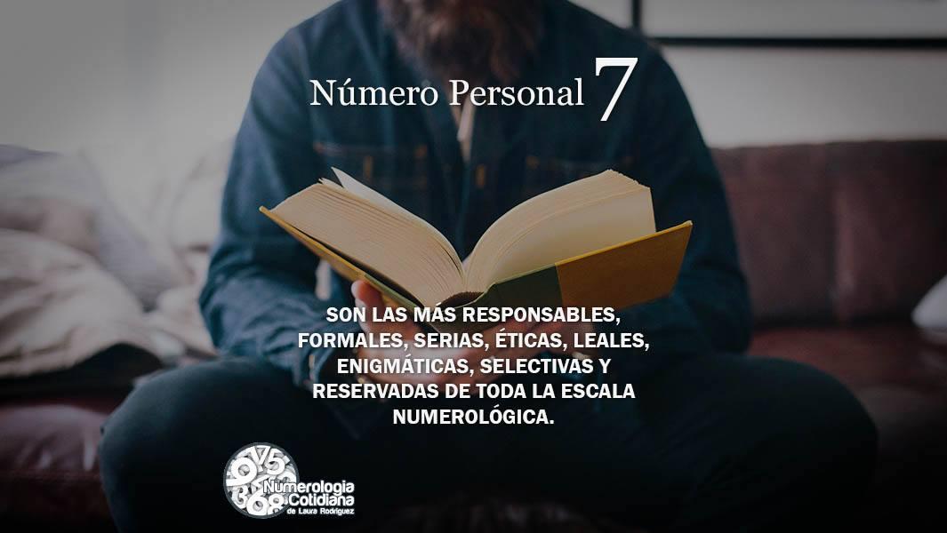 Número Personal 7