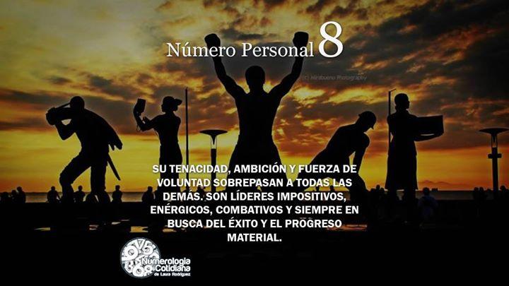 Número Personal 8