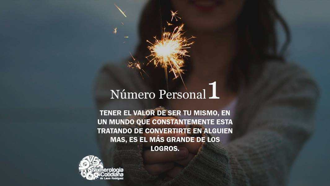 Número Personal 1