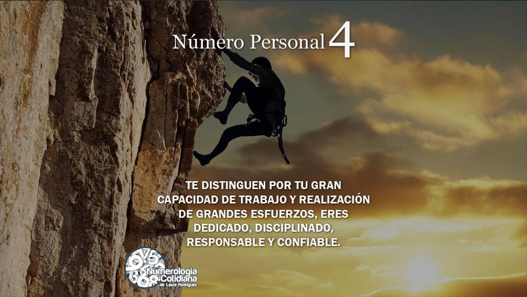 Número Personal 4
