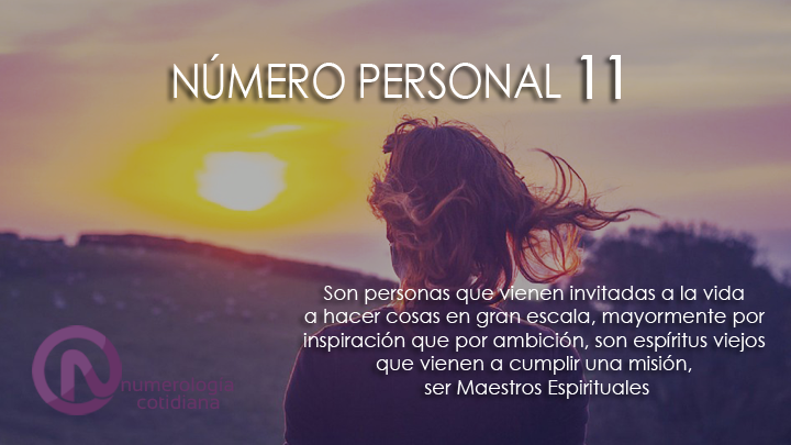 NUMEROPERSONAL11