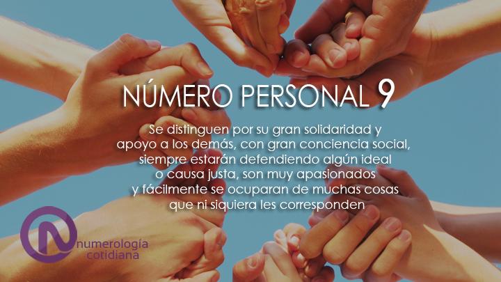 NUMEROPERSONAL9