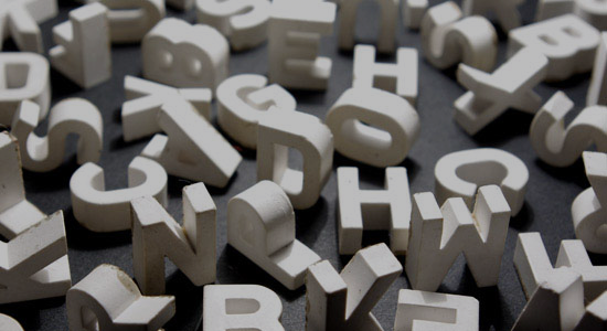 lettersgrey