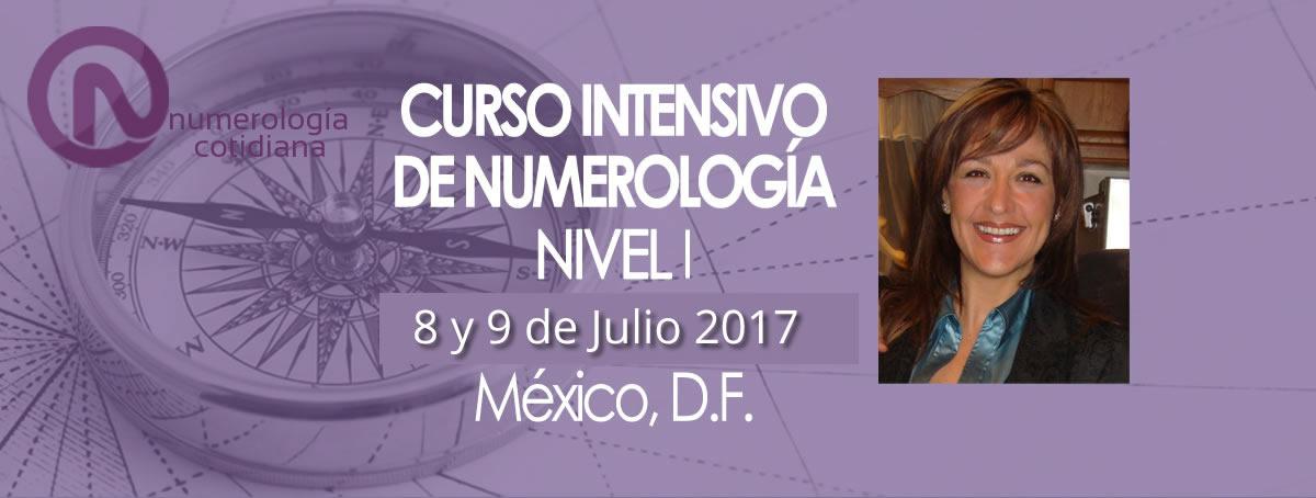 Curso Numerologia CDMX 8 y 9 de Julio