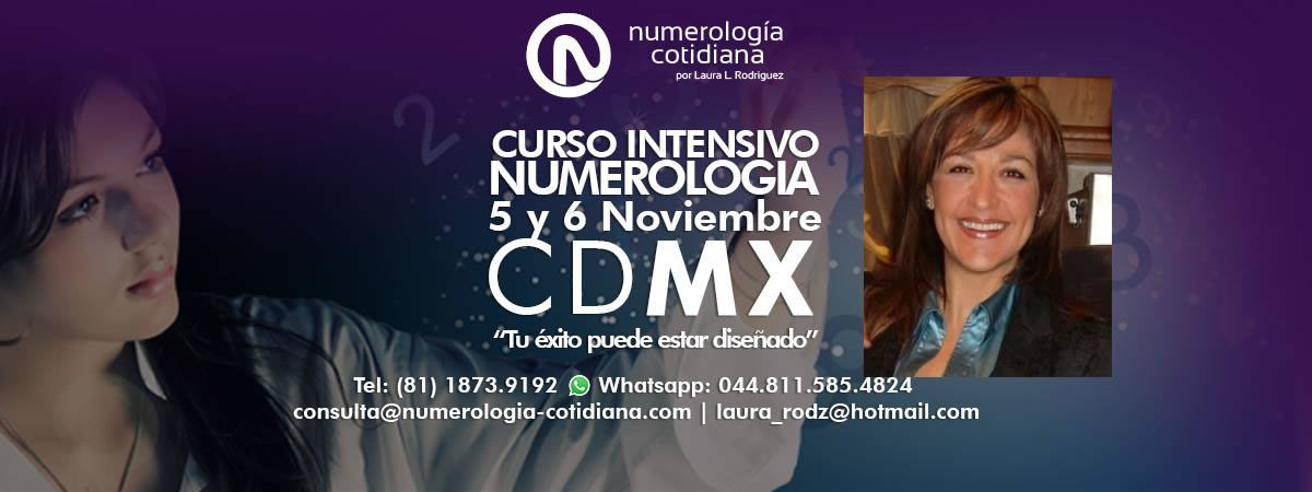 Curso Numerologia CDMX