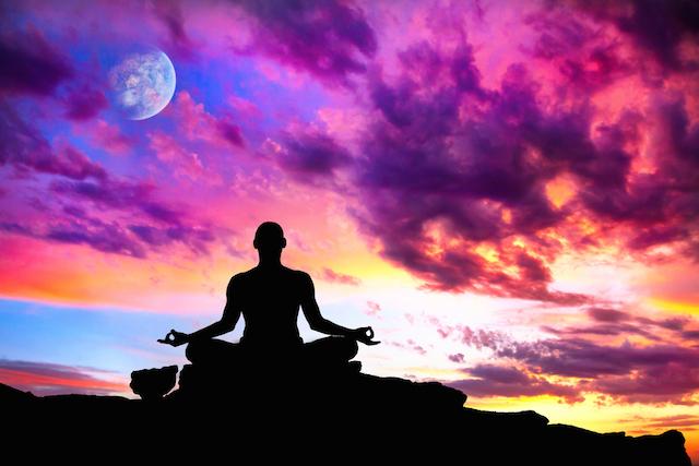 man-meditating