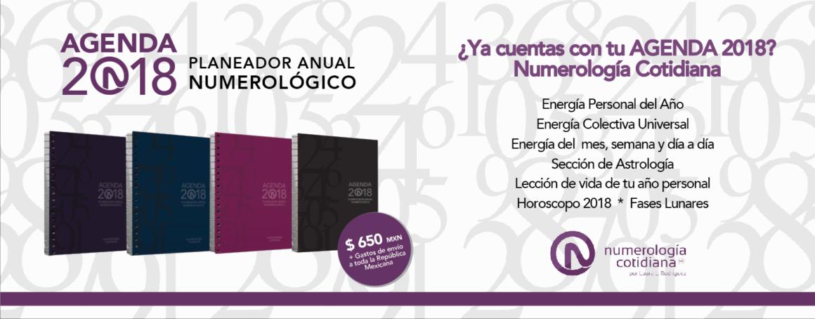 Planeador Numerología 2018