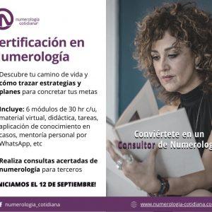 Certificación en Numerología